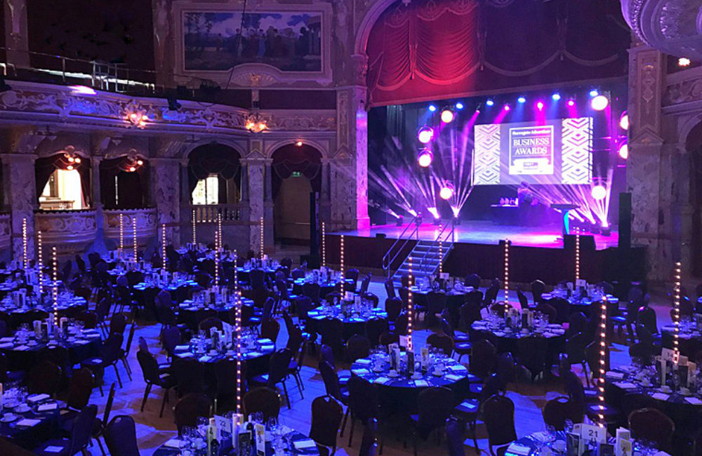 Royal Hall Gala Dinner Business Awards2018