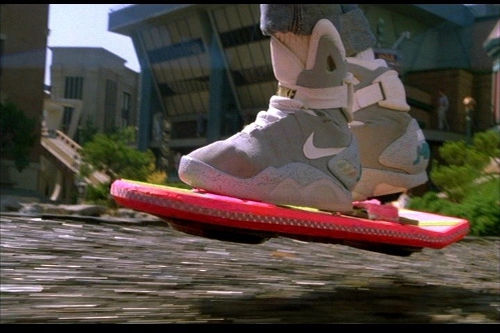 A floating hover board