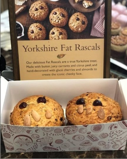 The famous Fat Rascal from Bettys