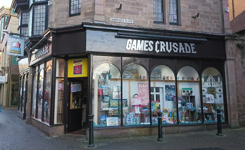 Games Crusade in Harrogate on Oxford Street