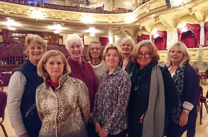 The Harrogate Decorative and Fine Arts Group in the Royal Hall - 2017