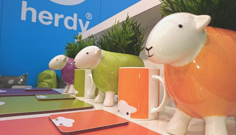 Some of the Herdy range on display at Harrogate Convention Centre in 2017