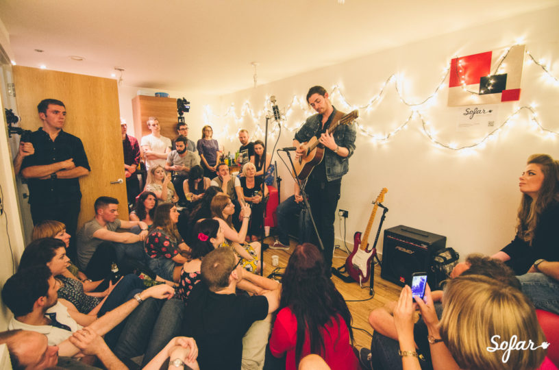 A Sofar Sound City gig in Manchester