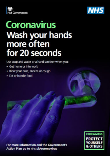 NHS Coronavirus Poster