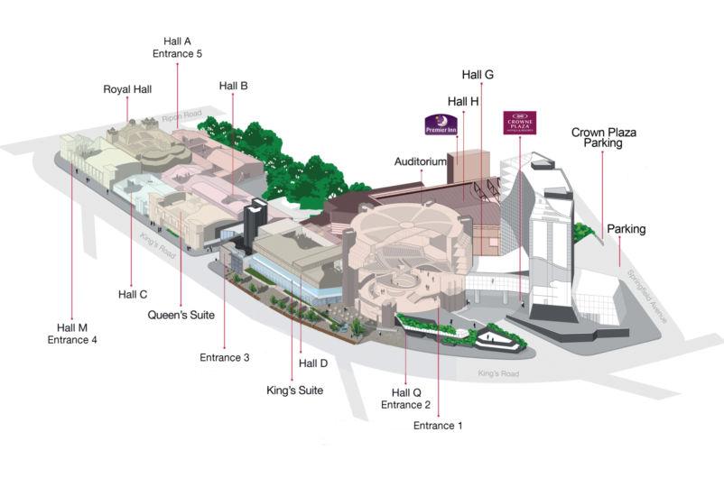 3D Site Plan