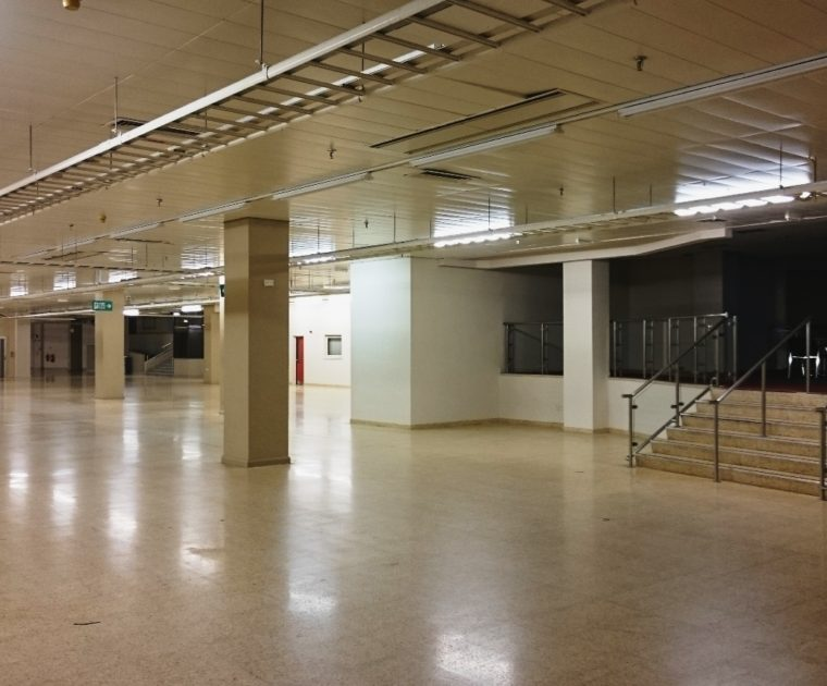 Hall Q Empty