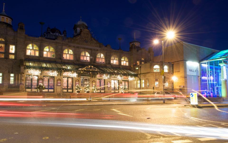 Royal Hall At Night